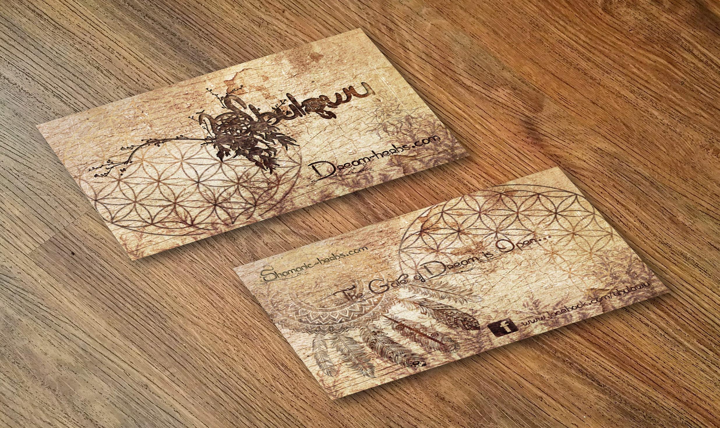 Ubulawu Carte de visite